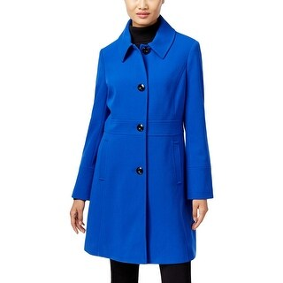 Larry Levine Womens Coat Long Sleeve Lightweight - S