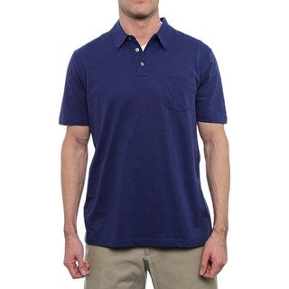 Perry Ellis Short Sleeve Collared Neck Polo Men Regular Polo Shirt