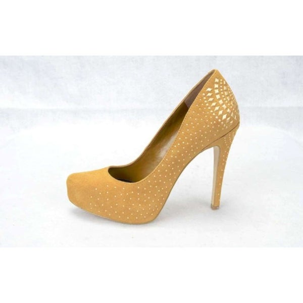 BCBGeneration Womens Prism Suede Pointed Toe Classic Pumps