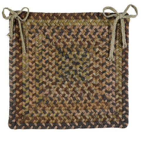 Ridgevale 100% Wool Multi-Colored Chair Pads
