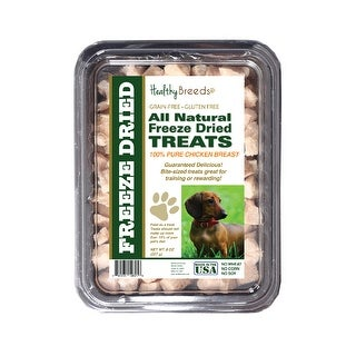 Healthy Breeds Dachshund Chicken Freeze Dried Treats