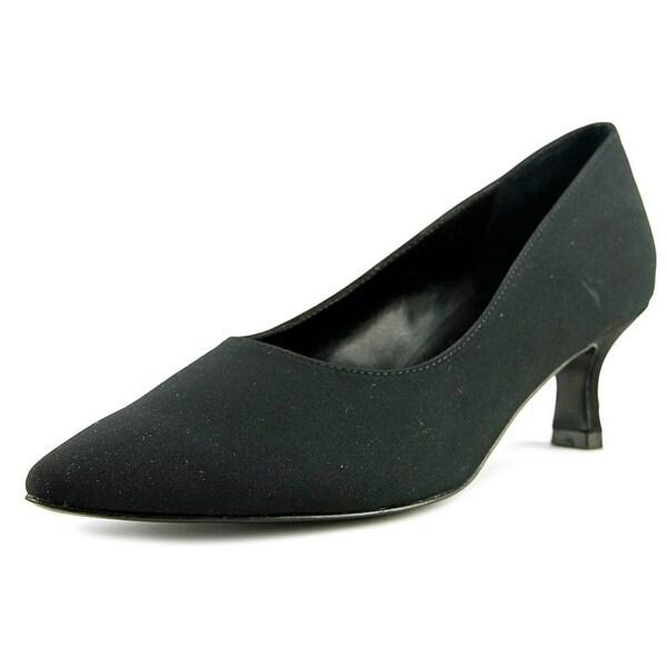 Womens Shoes Vaneli Pagoda Black Suede