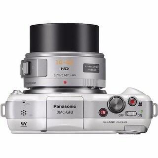 Panasonic Lumix DMC-GF3 Digital Camera with G X Vario PZ 14-42mm Lens
