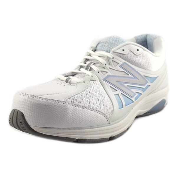 New Balance MW847 White/Sky blue Walking Shoes