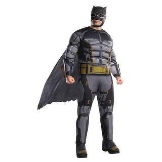 Mens Tactical Batman Justice League Big & Tall Costume - big & tall
