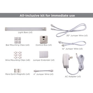 "BLACK+DECKER LED Under Cabinet Lighting Kit, 12"", Natural Daylight (3 options available)"