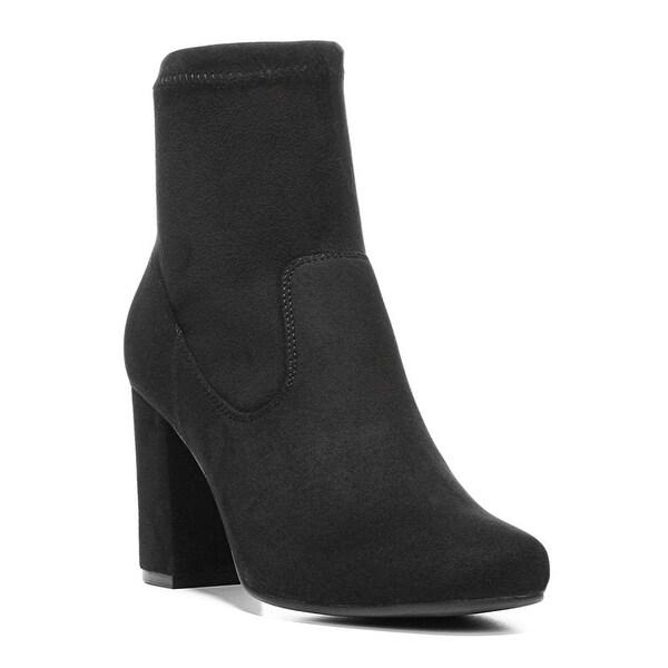 Carlos by Carlos Santana Womens REZA Fabric Closed Toe Ankle Fashion Boots