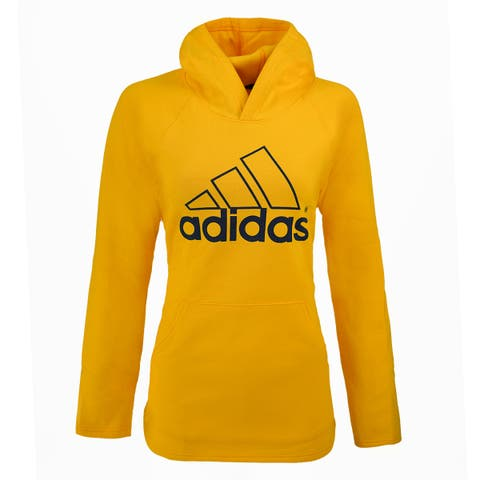 adidas Women's Essential Linear Hollow Pullover Hoodie