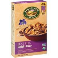 Nature's Path - Flax Plus Raisin Bran Cereal ( 12 - 14 oz boxes)