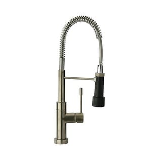 Pre-Rinse High-Arc Kitchen Faucet with Magnetic Sprayer