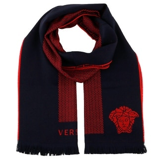 Versace IT00642 100% Wool Mens Scarf