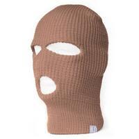 TopHeadwear's 3 Hole Face Ski Mask, Beige
