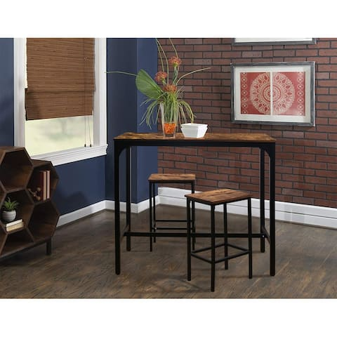 Veikous 47'' Industrial High Bar Dining Table