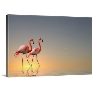 Anna Cseresnjes Premium Thick-Wrap Canvas entitled Serenity II