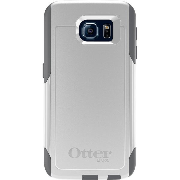 OtterBox Commuter Series Case for Samsung Galaxy S6 - White/Gunmetal Grey