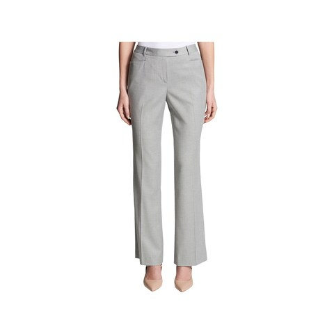 Calvin Klein Womens Pants Modern Fit Flared