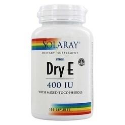 Solaray - Dry E, Capsule (Btl-Plastic) 400IU 100ct