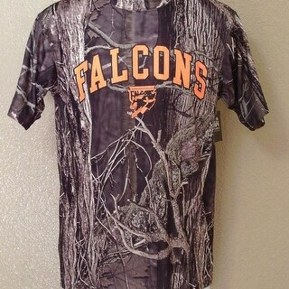 AHL Springfield Falcons Adult Small S Camo Athletic Shirt