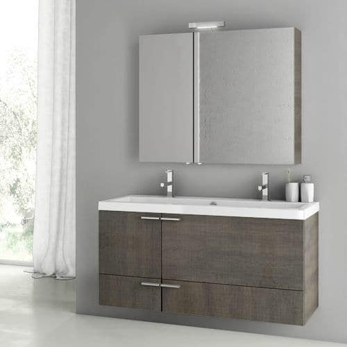 Shop Nameeks Ans205 Acf 47 Quot Wall Mounted Floating Vanity