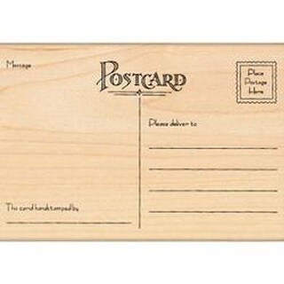 """Postcard - Penny Black Mounted Rubber Stamp 5.5""""X3.25"""""""