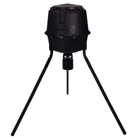 Moultrie MFG-13055 Pro Tripod Deer Feeder with Quick-Lock Modular Technology & 360 Feeding Pattern