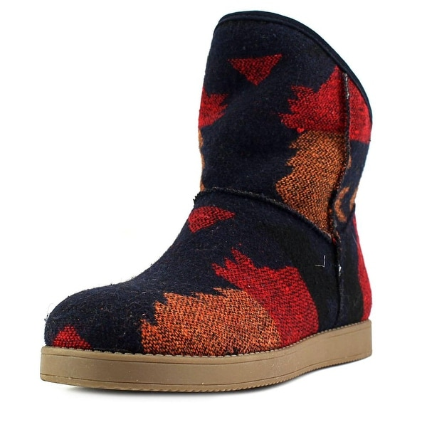 Indigo Rd. Aylee Women Round Toe Canvas Multi Color Winter Boot