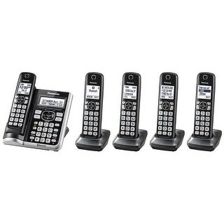 Panasonic KX-TGF575S Link2Cell BluetoothCordless Phone with Voice Assist and Answering Machine - 5 Handsets|https://ak1.ostkcdn.com/images/products/is/images/direct/cc8c06a5d1f856a7d64e50af1c369488e46c3c5d/Panasonic-KX-TGF575S-Link2Cell-BluetoothCordless-Phone-with-Voice-Assist-and-Answering-Machine---5-Handsets.jpg?_ostk_perf_=percv&impolicy=medium