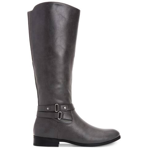 Style & Co. Womens kindellp Fabric Closed Toe Knee High Fashion Boots