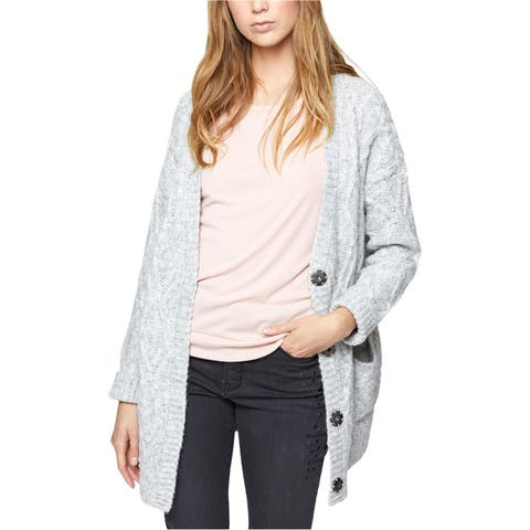 Sanctuary Clothing Womens Cable Cardigan Sweater