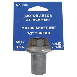 "Chicago 606-6 Work Arbor, 5/8"" Shaft, 1/2 "" - 20 Thread"