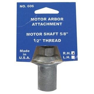 """Chicago 606-6 Work Arbor, 5/8"""" Shaft, 1/2 """" - 20 Thread"""