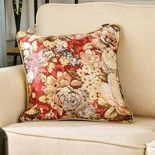 Hello Laura Luxury Court Jacquard Throw Pillow Cover Cushion