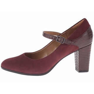 CLARKS Womens Bavette Cathy Round Toe Ankle Strap