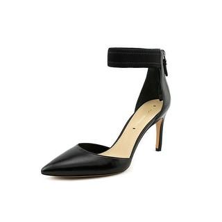 Via Spiga Ife Pointed Toe Leather Heels