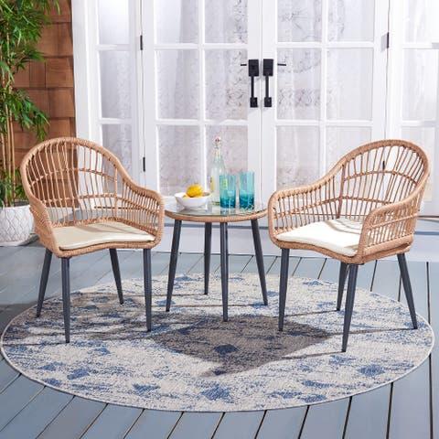 SAFAVIEH Outdoor Living Berlen 3-Piece Lounger Set