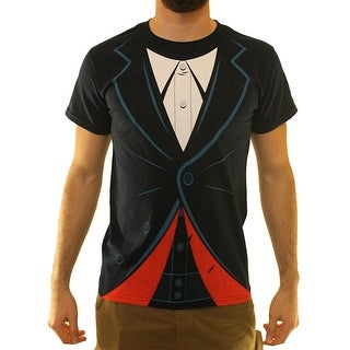Doctor Who Suit Costume Men's Blue T-shirt