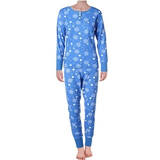 Bottoms Out Womens Pajama Set Thermal 2PC - L