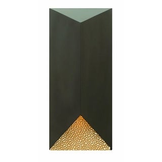 "Hinkley Lighting 2185 18"" Height 1 Light Dark Sky Outdoor Wall Sconce from the Vento Collection"