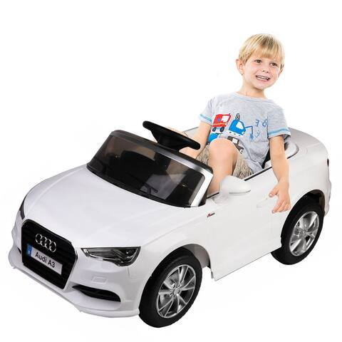 Costway 12V Audi A3 Licensed RC Kids Ride On Car Electric Remote