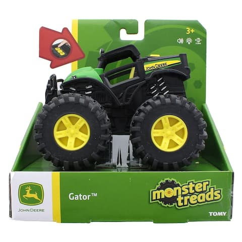 John Deere Monster Treads Lights & Sounds Gator Vehicle - Multi
