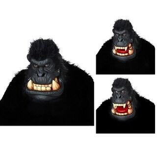 Adult Killa Gorilla Ani-Motion Halloween Mask - standard - one size