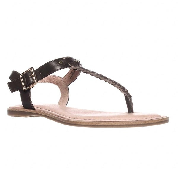 Sperry Top-Sider Virginia T-Strap Ankle Strap Sandals, Brown - 6 us / 36 eu