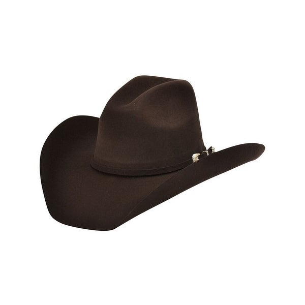 Shop Alamo Cowboy Hat Pennington Felt Wind Chocolate Brown 24101 - Free  Shipping Today - Overstock - 15445308 3d47d057a48