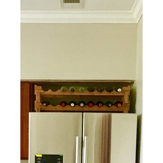 Oceanstar 18-bottle Stackable Wine Rack