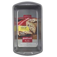 "Good Cook 04026 Non-stick Loaf Baking Pan, Large, 9"" X 5"""
