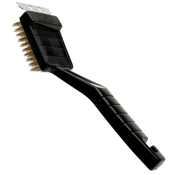 Rubbermaid G100-12 BBQ Brush With Steel Scraper, 8-1/2""