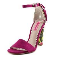 Betsey Johnson Rallo Women Fuchsia Sandals