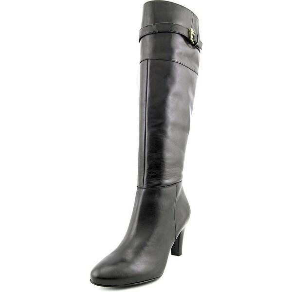 Lauren Ralph Lauren Susie Women  Pointed Toe Leather  Knee High Boot