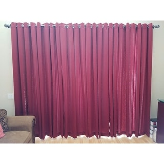 Porch & Den Inez Grommet Room Darkening Curtain Panel