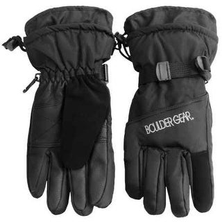 Outdoor Gear Womens Boulder Gear Winter Insulated Gloves, Black, L